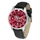 Massachusetts Minutemen Competitor AnoChrome Men's Watch with Nylon/Leather Band and... by