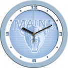 "Maine Black Bears 12"" Blue Wall Clock"