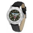 Maine Black Bears Competitor AnoChrome Men's Watch with Nylon/Leather Band