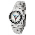 Maine Black Bears Competitor Ladies Watch with Steel Band