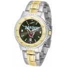 Maine Black Bears Competitor AnoChrome Two Tone Watch
