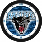 "Maine Black Bears 12"" Dimension Wall Clock"