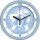 "Maryland Terrapins 12"" Blue Wall Clock"