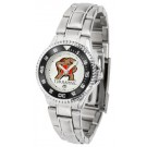 Maryland Terrapins Competitor Ladies Watch with Steel Band