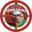 "Maryland Terrapins 12"" Helmet Wall Clock"