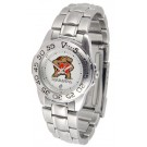 Maryland Terrapins Gameday Sport Ladies' Watch with a Metal Band