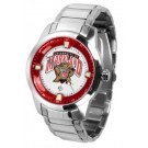 Maryland Terrapins Titan Steel Watch by
