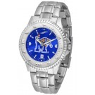 Memphis Tigers Competitor AnoChrome Men's Watch with Steel Band by