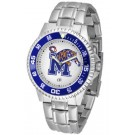 Memphis Tigers Competitor Watch with a Metal Band