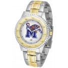 Memphis Tigers Competitor Two Tone Watch by