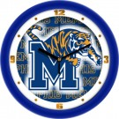 "Memphis Tigers 12"" Dimension Wall Clock"