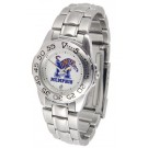 Memphis Tigers Gameday Sport Ladies' Watch with a Metal Band