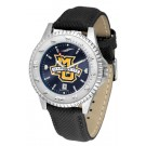 Marquette Golden Eagles Competitor AnoChrome Men's Watch with Nylon/Leather Band