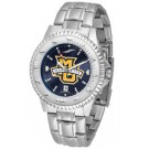 Marquette Golden Eagles Competitor AnoChrome Men's Watch with Steel Band