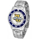Marquette Golden Eagles Competitor Watch with a Metal Band
