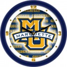 "Marquette Golden Eagles 12"" Dimension Wall Clock"