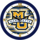 "Marquette Golden Eagles 12"" Dimension Wall Clock"