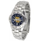 Marquette Golden Eagles Sport AnoChrome Ladies Watch with Steel Band