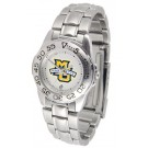 Marquette Golden Eagles Gameday Sport Ladies' Watch with a Metal Band