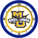 "Marquette Golden Eagles Traditional 12"" Wall Clock"