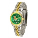 Miami Hurricanes Ladies Executive AnoChrome Watch by