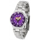 Minnesota State-Mankato Mavericks Competitor AnoChrome Ladies Watch with Steel Band and Colored Bezel
