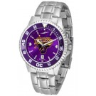 Minnesota State-Mankato Mavericks Competitor AnoChrome Men's Watch with Steel Band and Colored Bezel