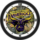 "Minnesota State-Mankato Mavericks 12"" Camo Wall Clock"