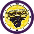 "Minnesota State-Mankato Mavericks 12"" Dimension Wall Clock"