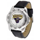 Minnesota State-Mankato Mavericks Men's Sport Watch with Leather Band