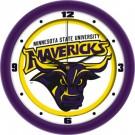 "Minnesota State-Mankato Mavericks Traditional 12"" Wall Clock"