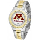 Minnesota Golden Gophers Competitor Two Tone Watch