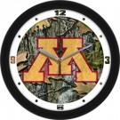 """Minnesota Golden Gophers 12"""" Camo Wall Clock"""