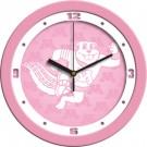 """Minnesota Golden Gophers 12"""" Pink Wall Clock"""