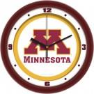 "Minnesota Golden Gophers Traditional 12"" Wall Clock"