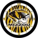 "Missouri Tigers 12"" Dimension Wall Clock"