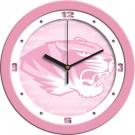 """Missouri Tigers 12"""" Pink Wall Clock"""