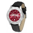 Mississippi State Bulldogs Competitor AnoChrome Men's Watch with Nylon/Leather Band