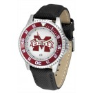 Mississippi State Bulldogs Competitor Men's Watch by Suntime