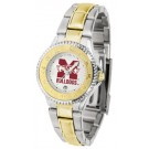 Mississippi State Bulldogs Competitor Ladies Watch with Two-Tone Band