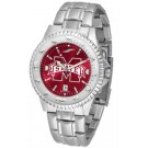 Mississippi State Bulldogs Competitor AnoChrome Men's Watch with Steel Band