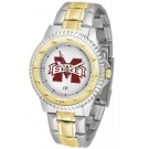 Mississippi State Bulldogs Competitor Two Tone Watch