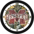 "Mississippi State Bulldogs 12"" Camo Wall Clock"