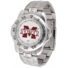 Mississippi State Bulldogs Sport Steel Band Men's Watch