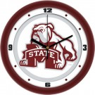 "Mississippi State Bulldogs Traditional 12"" Wall Clock"