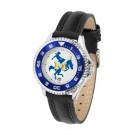 McNeese State Cowboys Competitor Ladies Watch with Leather Band