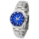 McNeese State Cowboys Competitor AnoChrome Ladies Watch with Steel Band and Colored Bezel