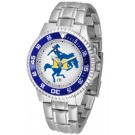 McNeese State Cowboys Competitor Watch with a Metal Band