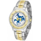 McNeese State Cowboys Competitor Two Tone Watch