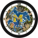 "McNeese State Cowboys 12"" Camo Wall Clock"